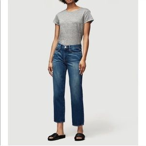 Frame Le Nouveau Straight Ganby High Waisted Jeans